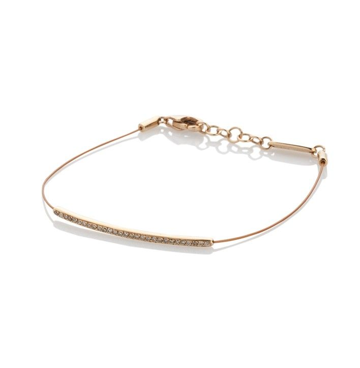 Armband Staal Diamanten Rose Goud