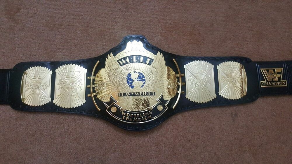 AEW World Heavyweight Championship Belt 2mm Zinc Dual Gold Plated