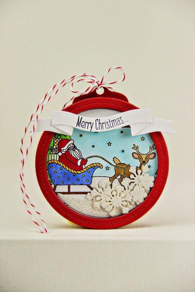 Тебя, новогодние открытки в виде шара своими руками