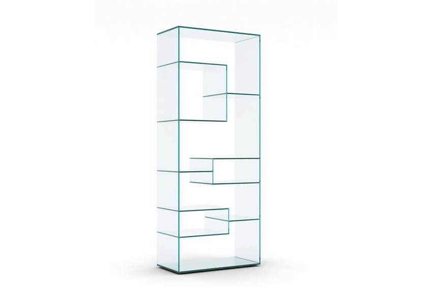Scaffalature In Vetro.Liber Espositore Libreria Prodotti Tonelli Design Mobili