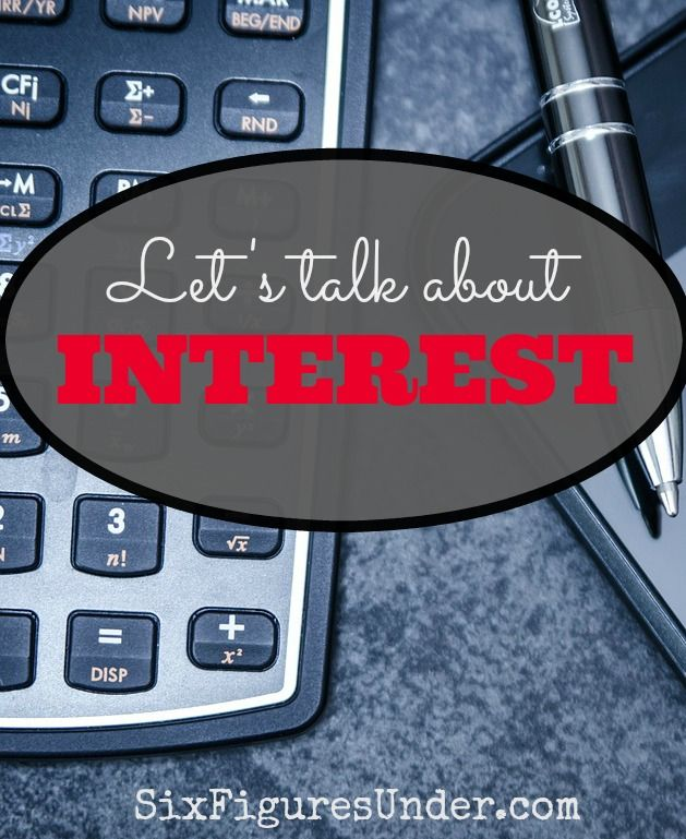"""Those who understand interest earn it.  Those who don't pay it.""  When did you grasp the concept of interest?  Have you taught your kids?  Let's discuss!"