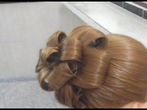 Un Chignon Fleur Tres Facile A Realiser Youtube Hairstyle Elegant Wedding Hair Hair Videos