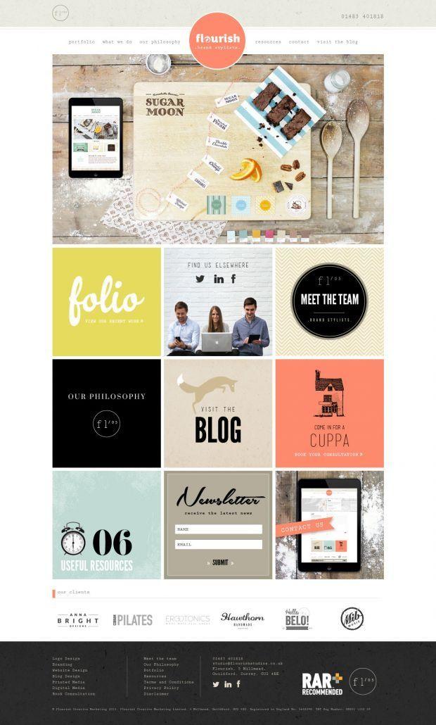 Web Design Inspiration Feb Web Layout Design Creative Branding
