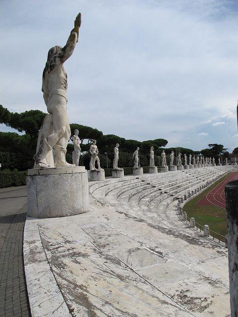 Roma, lo Stadio dei Marmi #irresistiblyItalian