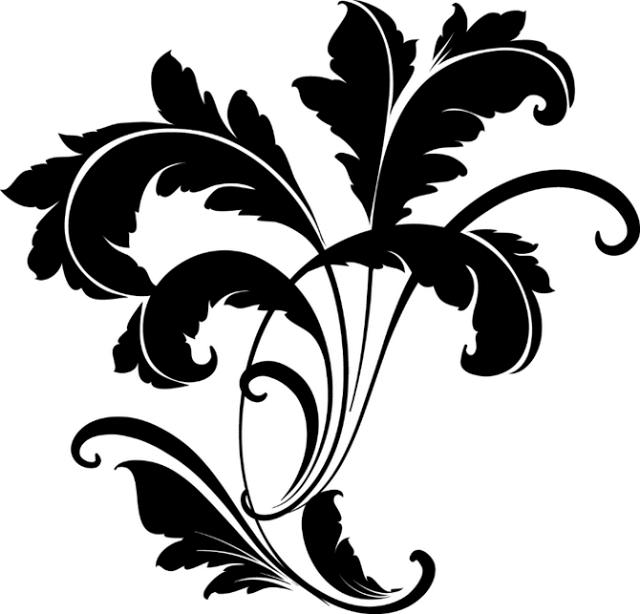 Картинка с вензелями, огорода овощами для