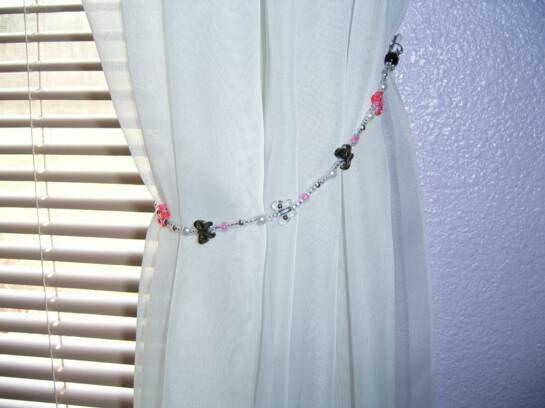 Butterfly Shower Curtain Walmart Curtain Rope Tie Backs