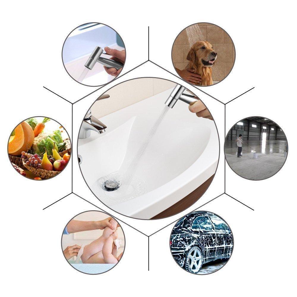 Hand Held Toilet Bidet Sprayer 59 Hose Easy To Install In