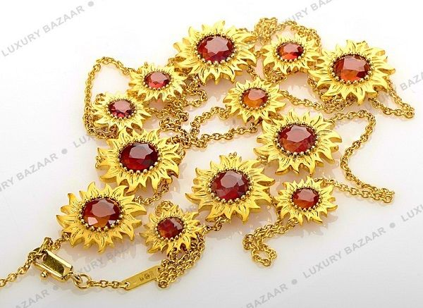 Sol y Sombra Madeira Citrine Necklace