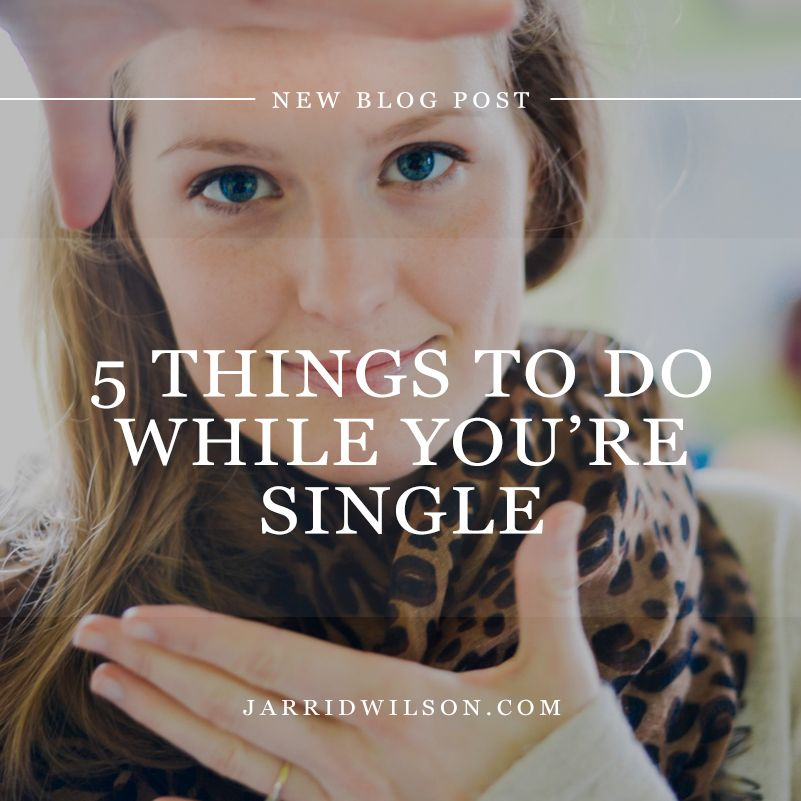 5 things are better while single