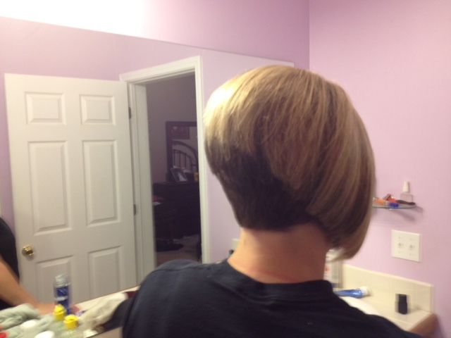 Bobs Napes, Tone Shaved, Shaved Nape, Work Hair, 640 480, Stacked Bobs ...