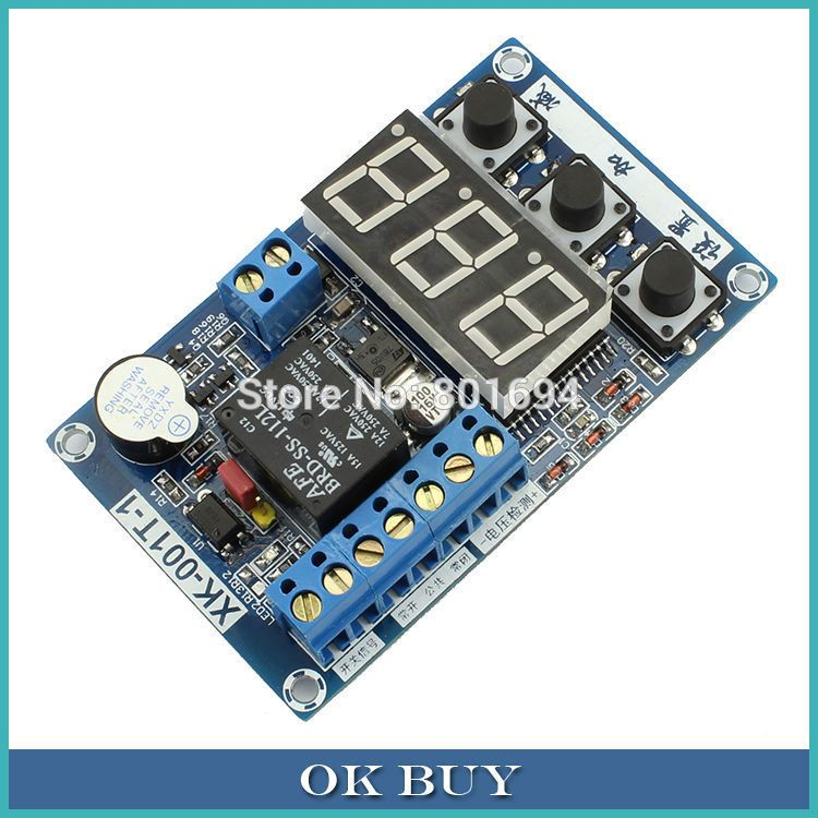 DC12V Multifunction Relay Module Time Delay//Voltage Control//Voltage Detection