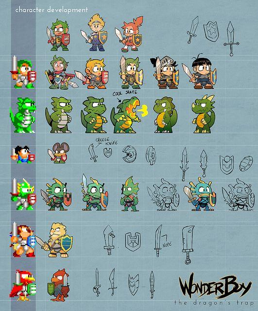 Wonder Boy The Dragons Trap Has A New Playable Hero PlayStationBlog