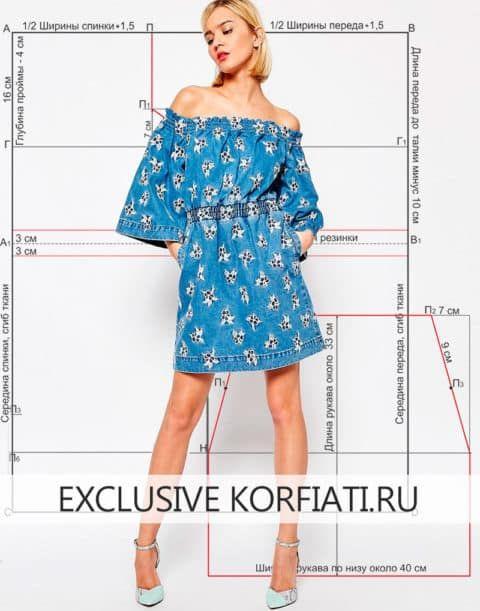 973d829c2796153 Off-shoulder Dress Pattern Образцы Одежды Для Кукол, Выкройки Для Одежды,  Выкройки Одежды