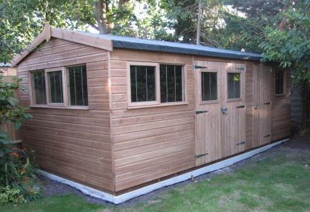 garden sheds back yard paradise pinterest garden buildings gardens and building - Garden Sheds 6 X 12