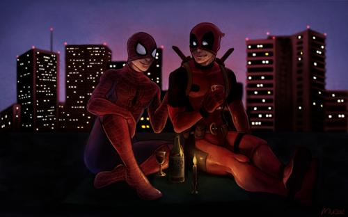 On The Roof - Spideypool