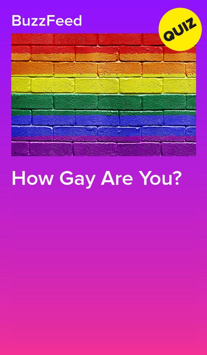 Gay test how Am I