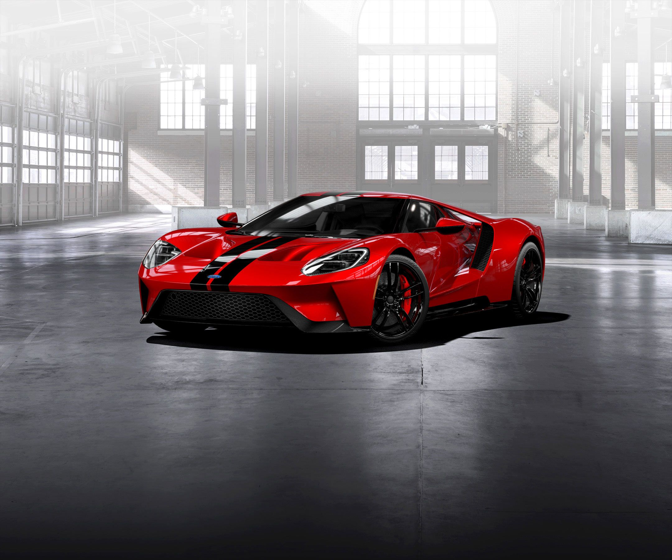 2017 ford gt render painted in liquid red w black stripes cars 2017 ford gt render painted in liquid red w black stripes fandeluxe Image collections