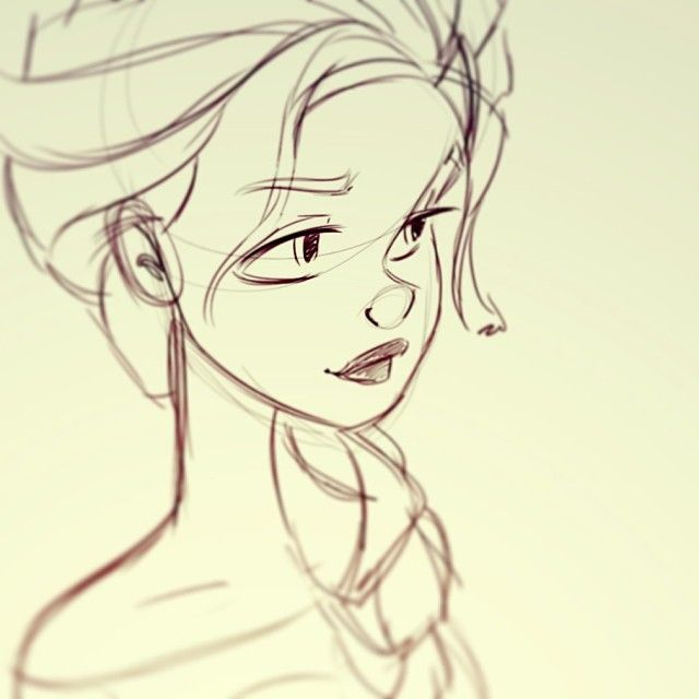My first #Frozen #fanart. So many more to come #disney #elsa ★ Find more at http://www.pinterest.com/competing