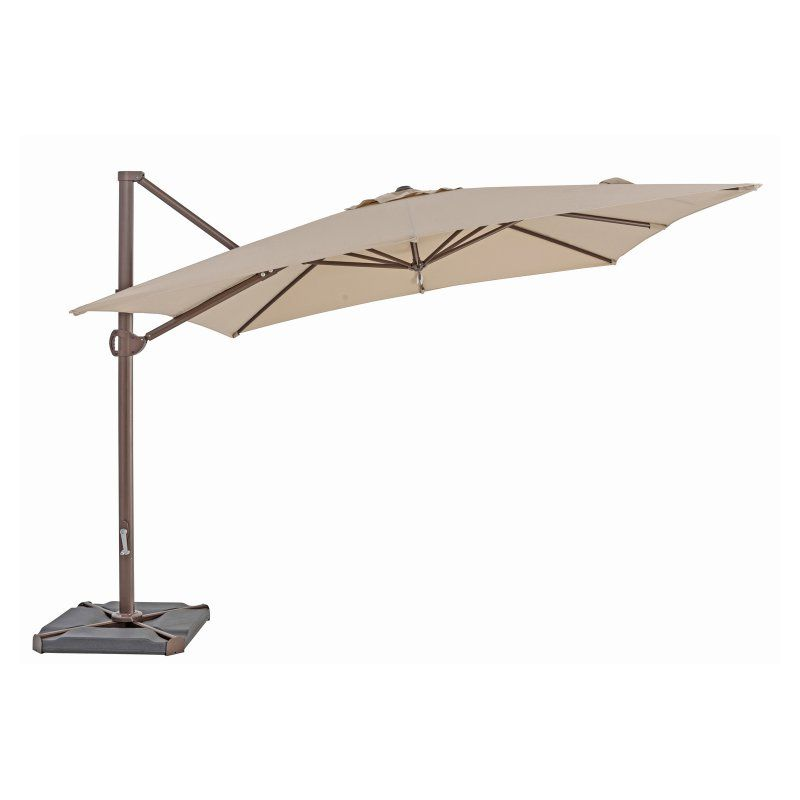 Sorara Usa 10 X 10 Ft Square Aluminum Cantilever Umbrella Antique Beige Us108pab Cantilever Umbrella Best Patio Umbrella Offset Patio Umbrella