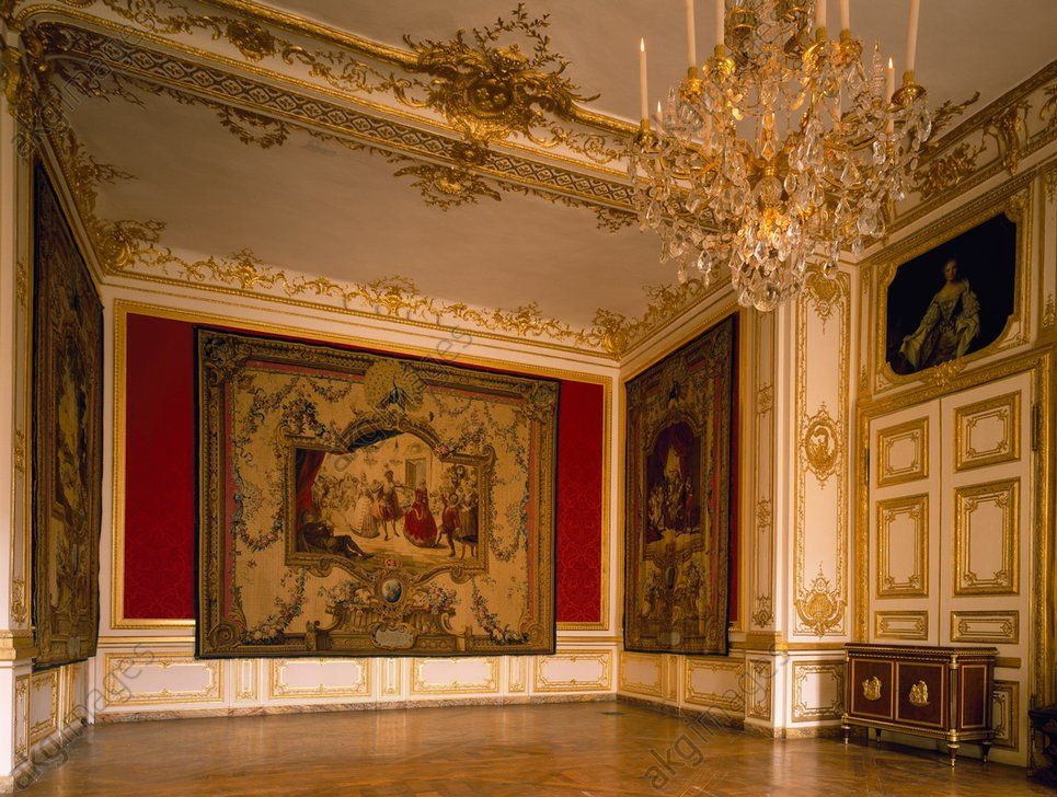 Petit appartements of louis xv at versailles versailles for Chambre louis xiv