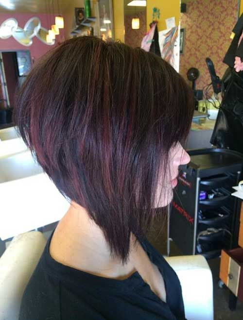 Best Stacked Bob Hairstyles Ideas For   Kapsels Pinterest Stacked Angled Bob Bobs And Shorts