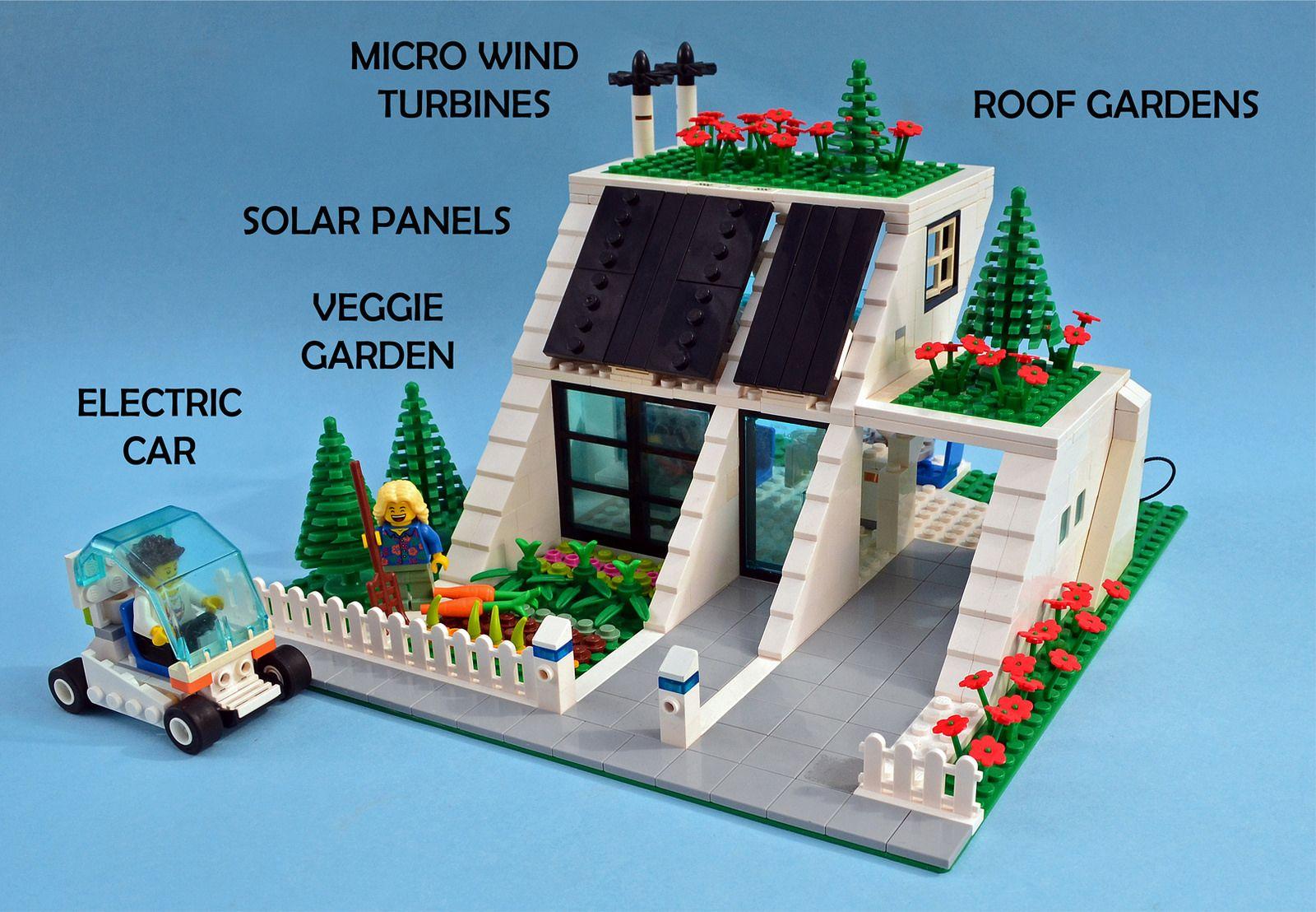 Eco- Home on Lego Ideas | by Shannon Ocean