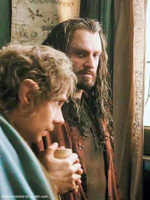 Thorin so handsome - plus Bilbo!
