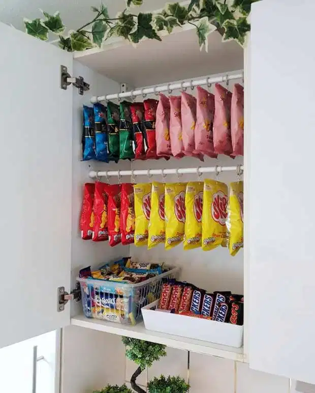 Mum shows off her VERY organised pantry which is colour-coordinated and claims her husband thinks she's 'crazy'