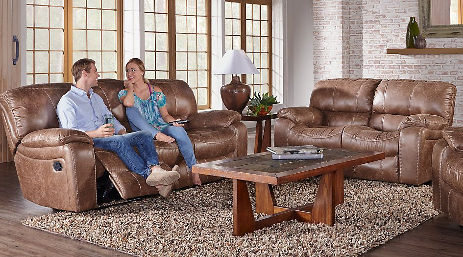 Cindy Crawford Home Alpen Ridge Tan 7 Pc Living Room From Stunning Tan Living Room Collection Design Ideas