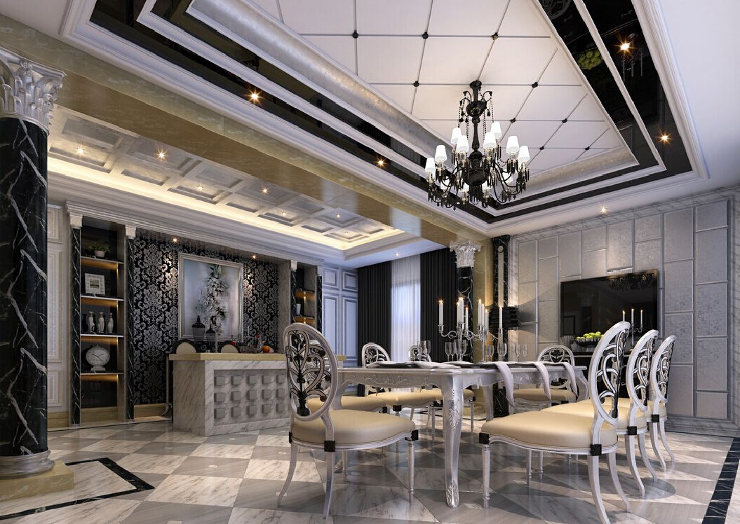 Interior Design For Dining Room Pleasing Neoclassicism Interior Design  Google Search  Neoclassical Era Design Inspiration