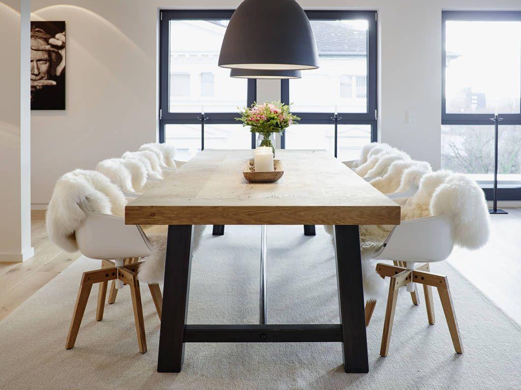 Rustikales Esszimmer Gestalten : Penthouse esszimmer von honeyandspice innenarchitektur design
