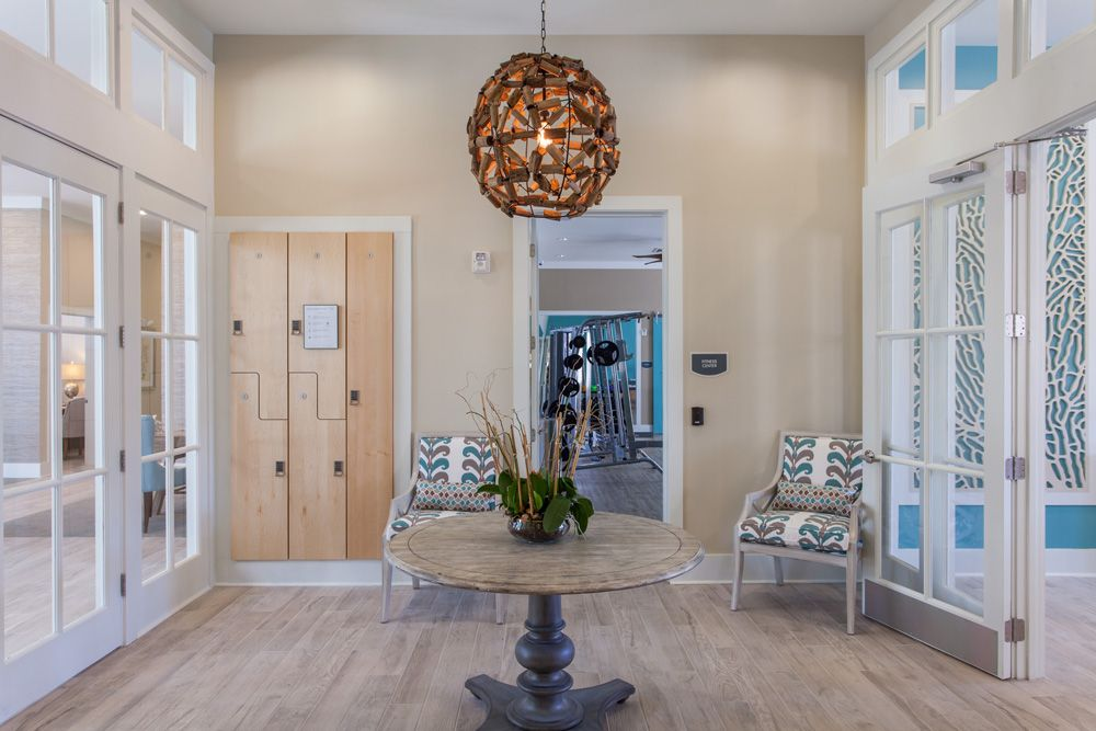 Lounge Area Broadstone Seaside Crosby Design Group Charleston Sc