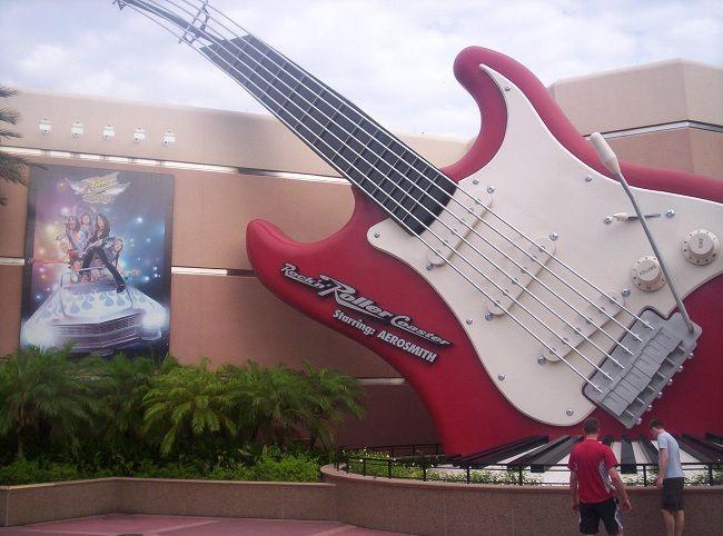 Rock N Roller Coaster Top Walt Disney World Rides for Adults