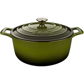 La Cuisine 5 Quart Cast Iron Dutch Oven With Lid Lowes Com Cast Iron Dutch Oven Cast Iron Casserole Dish Cookware And Bakeware