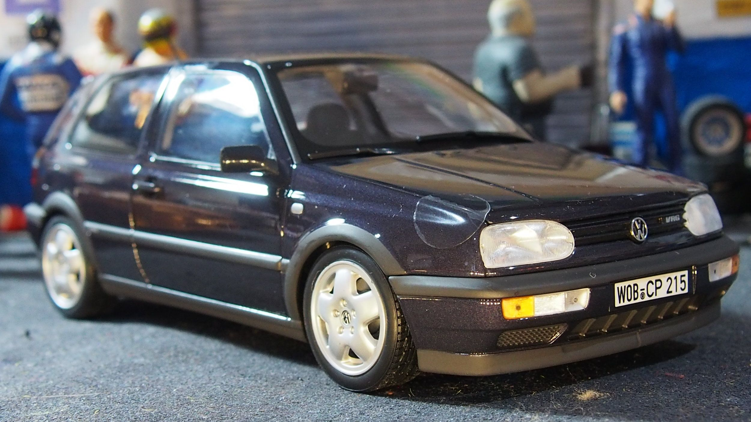 VW Golf GTi MK3 boxed by norev 1 18 scale Pinterest