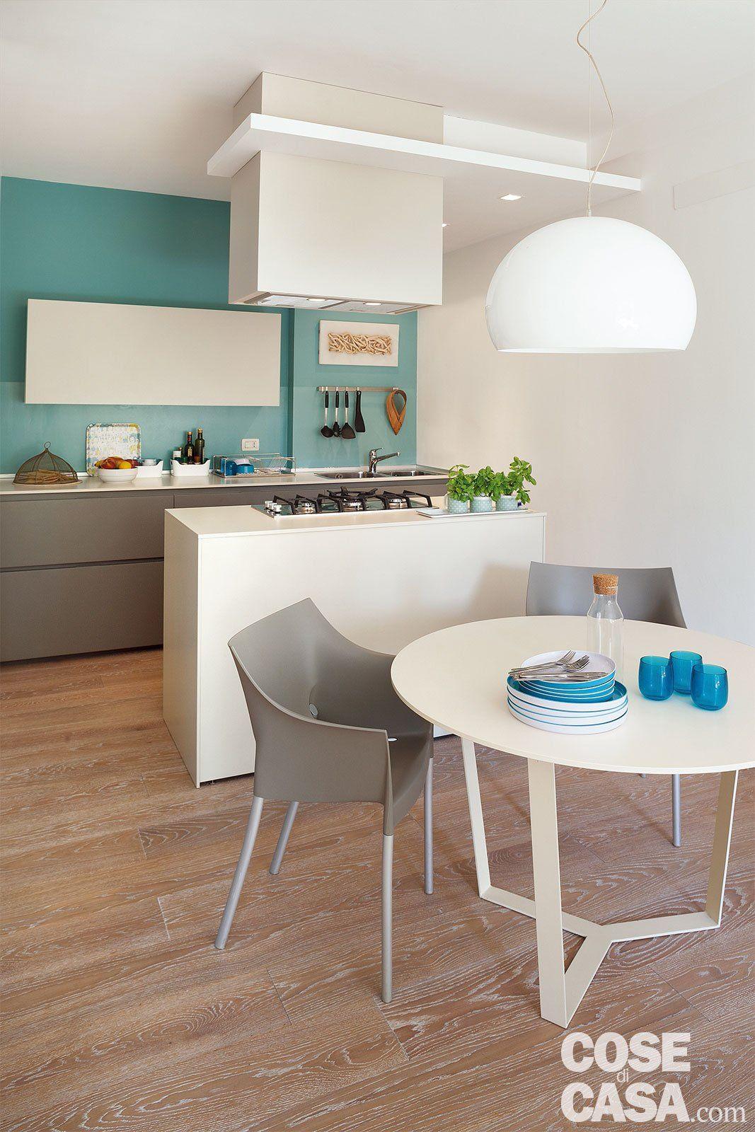 In 52 Mq Un Mini Trilocale Con Lavanderia Arredamento Casa