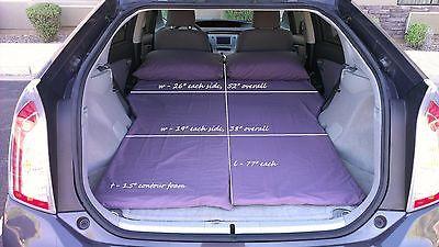 Prius Camping - Custom Fit Gen-III Sleeping / Camper Conversion Kit