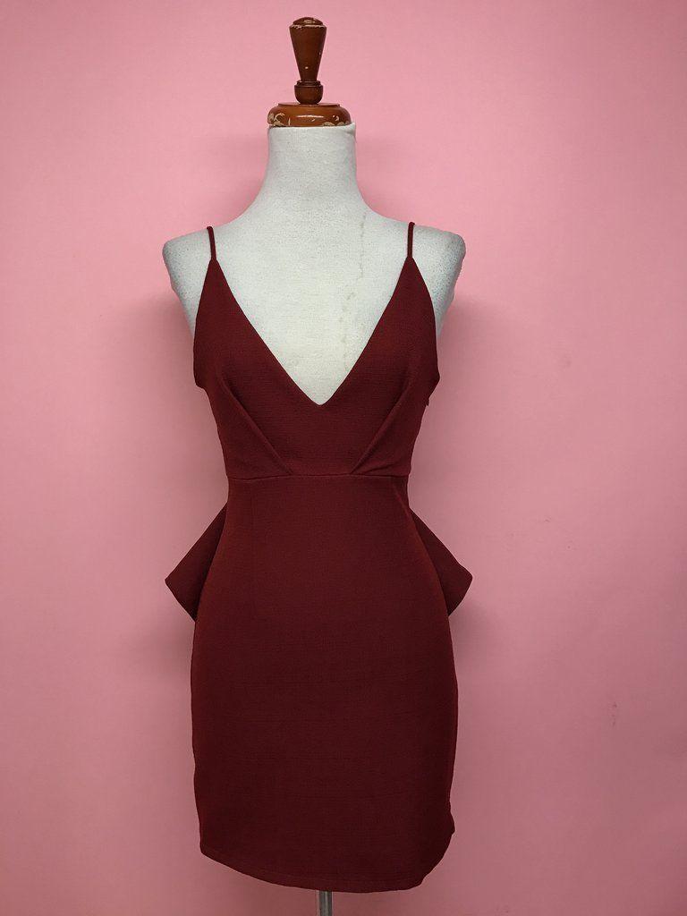 Vestido corto con escarola (2 colores) - OH MY! STORE | Dresses ...