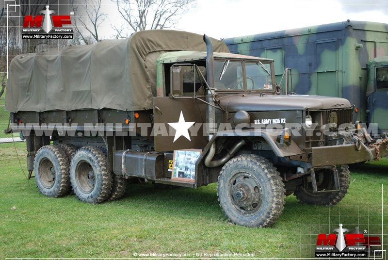 M35 G742 Deuce And A Half The M35 Military Truck Has