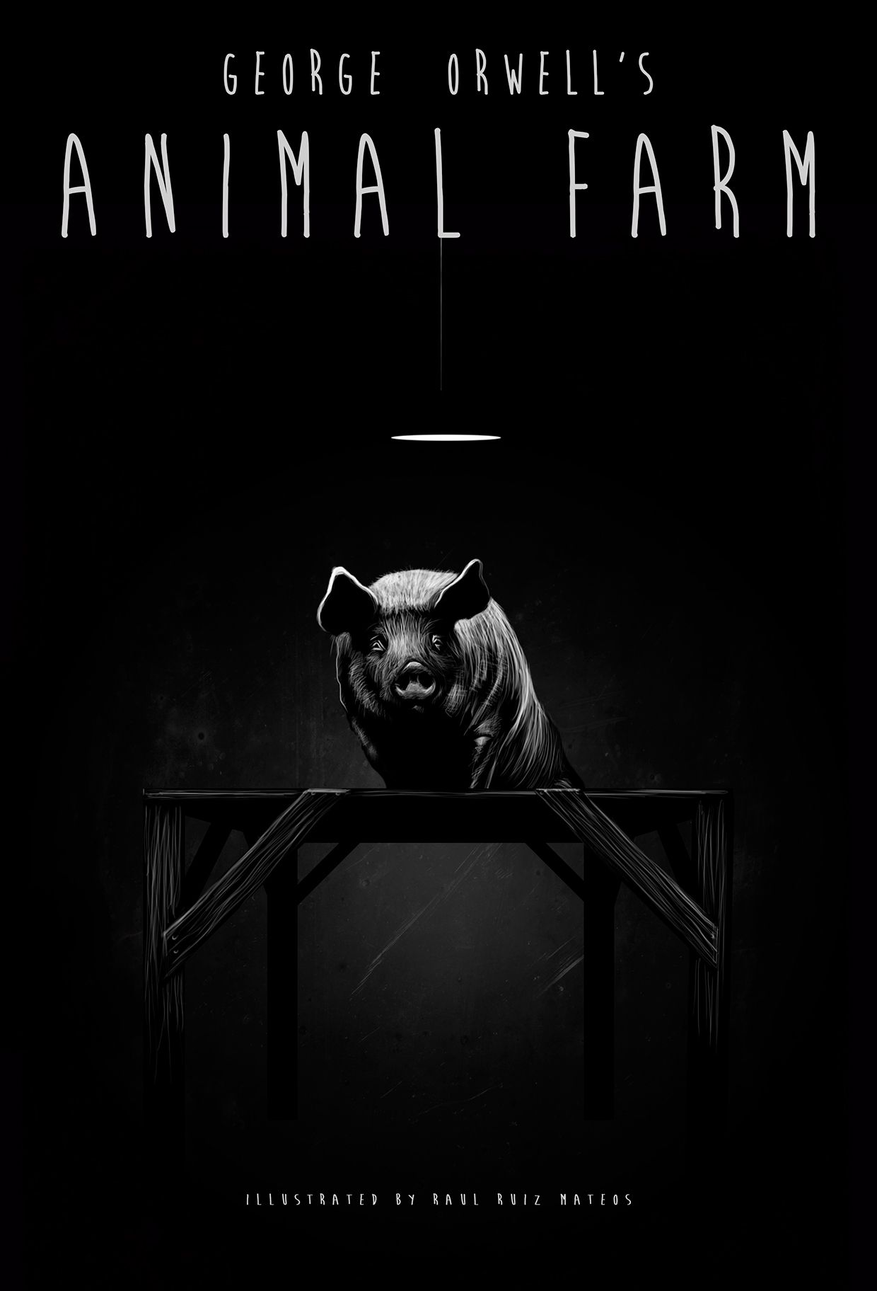 Illustration For The George Orwell S Animal Farm Animal Farm George Orwell Farm Animals Farm Books
