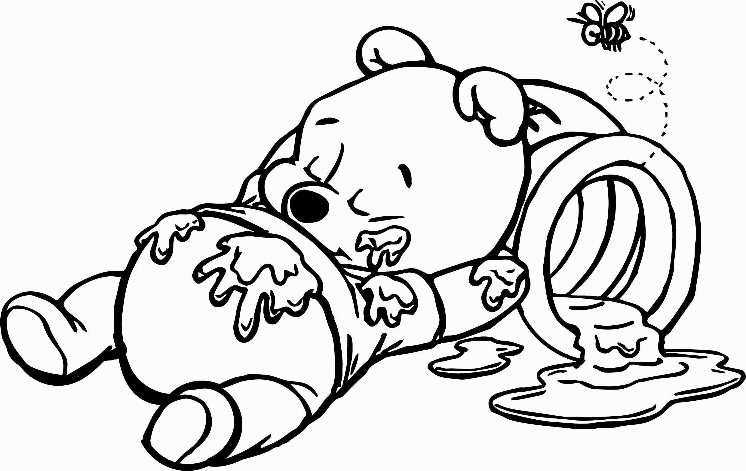 Winnie The Pooh Coloring Pages Fresh Pooh Coloring Pages