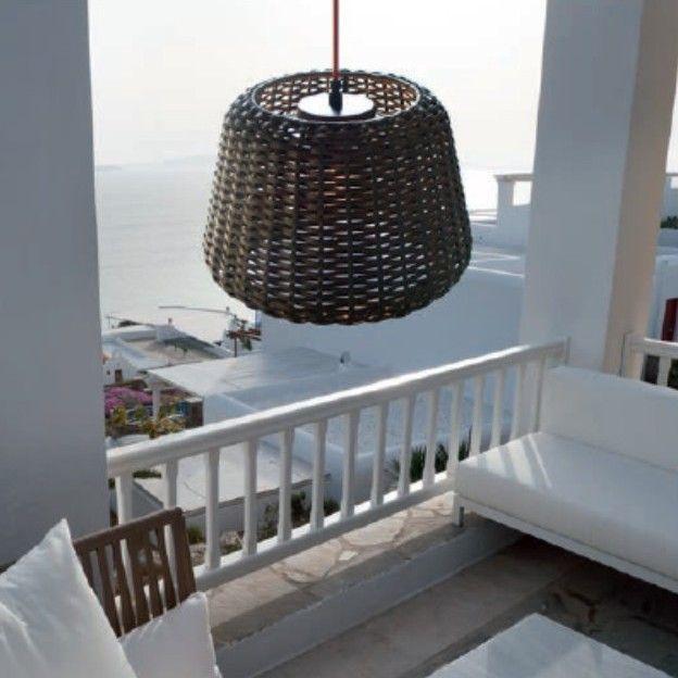 Zaneen Lighting 19 75 W Ralph 1 Light Pendant Rattan Lamp Furniture Design Modern Outdoor Lighting