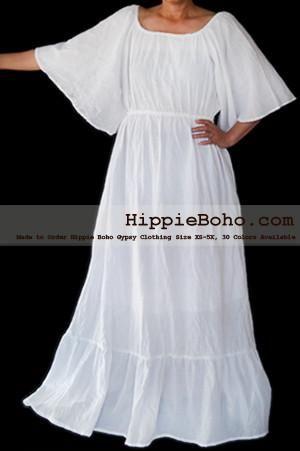 No476 Size Xs 7x Handmade Hippie Boho Gypsy Bohemian Bell Wide
