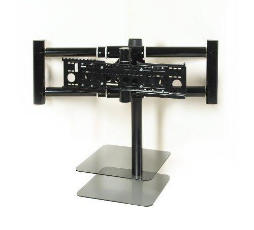 avf nexus nxl4502pb a flat panel tv corner mount for 36 inch to 70 inch screens black by avf. Black Bedroom Furniture Sets. Home Design Ideas