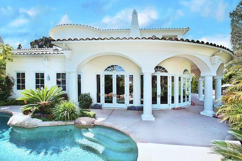 Casa divina Casas rosadas, Casas de ensueño, Mansiones