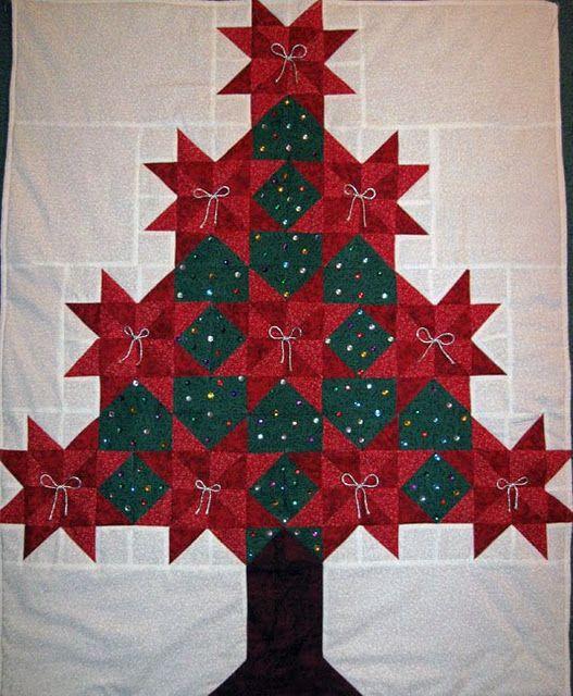 christmas tree quilt quilting inspiration pinterest. Black Bedroom Furniture Sets. Home Design Ideas