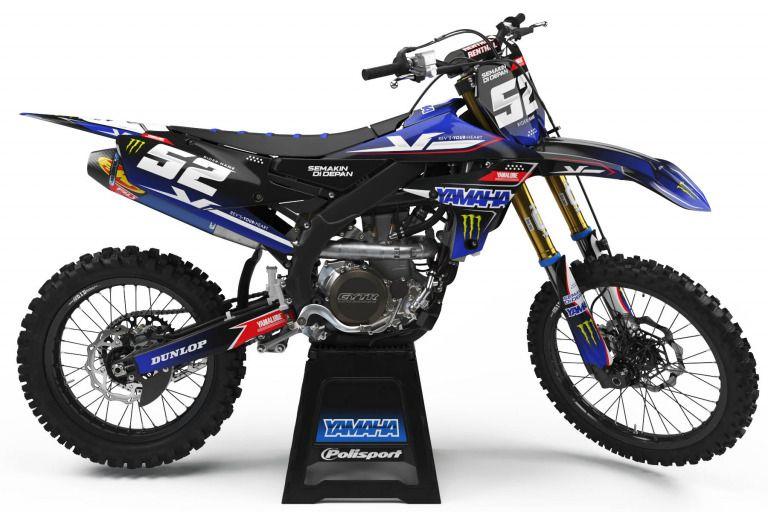 Yamaha Mx Graphics Perfect Fit Omxgraphics 1 In 2020 Yamaha Dirt Bikes Yamaha Yamaha Wr