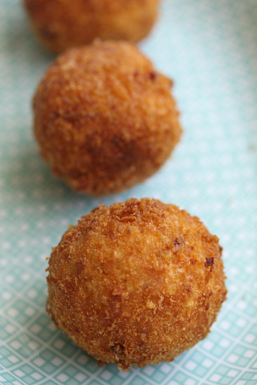 Chorizo Arancini Recipe With Images Arancini Recipe