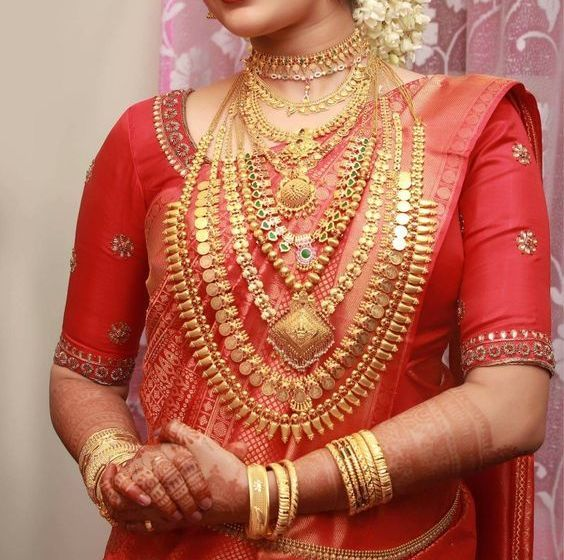 Photo of Ultimate Guide to Find Best Kerala Wedding Jewellery Sets Ideas • South India Jewels