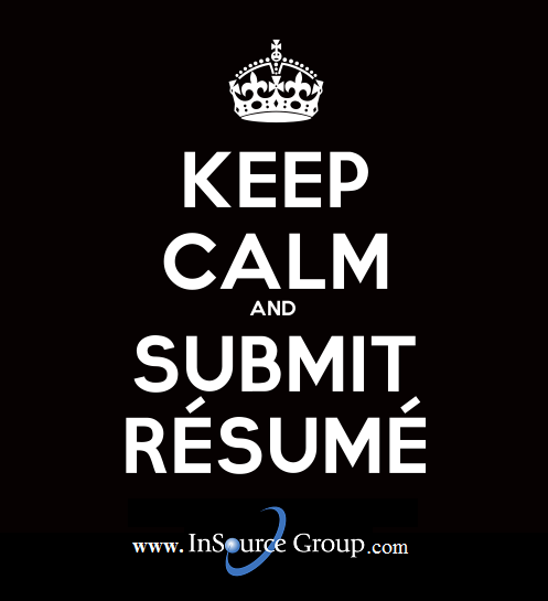 submit your résumé at www insourcegroup com submit resume let